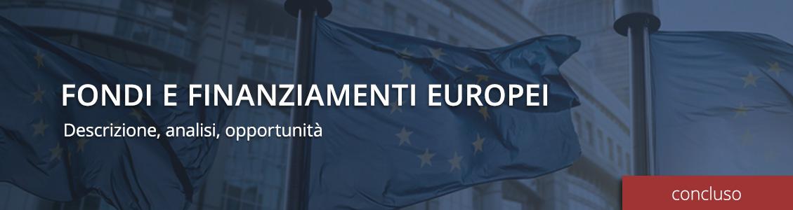 Fondi e Finanziamenti Europei